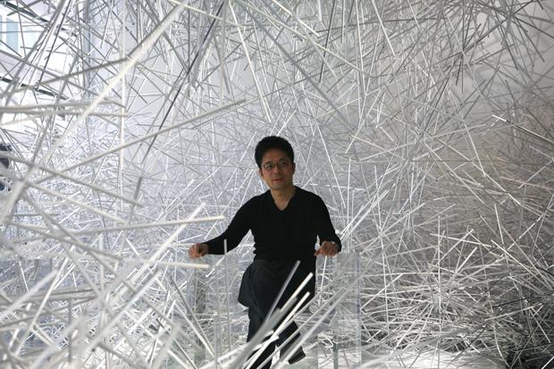tokujin yoshioka stellar swarovski crystal palace 4 Tokujin Yoshioka The Invisibles for Kartell