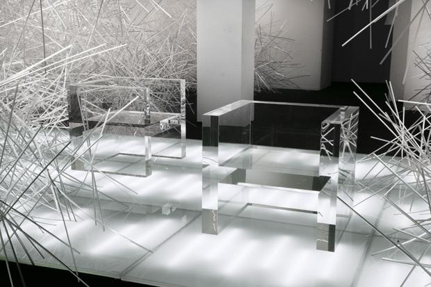 tokujin yoshioka stellar swarovski crystal palace 7 Tokujin Yoshioka The Invisibles for Kartell